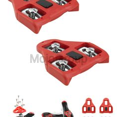 fe137672bd7 Sponsored(eBay) BV Bike Cleats Compatible with Look Delta (9 Degree Float)
