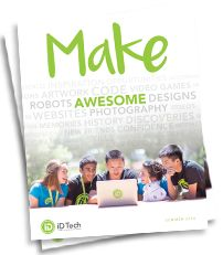 """Kick-start your future at the world's #1 tech camp for kids and teens, with over 150 prestigious campus locations nationwide. Whether you're an aspiring coder, app developer, web designer, or robotics engineer, unleash your inner """"maker"""" and do something BIG this summer. Day & overnight STEM programs available."""