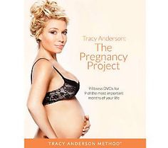The Pregnancy Project : workout dvd's by Tracy Anderson for each month during pregnancy