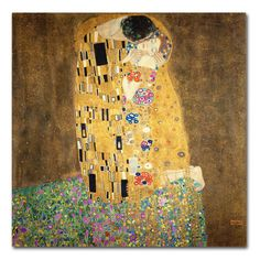 Found it at Joss & Main - The Kiss, 19078 by Gustav Klimt Canvas Print