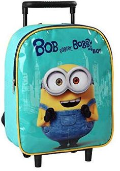 Disney, Minions, Suitcase, Kids Backpacks, School Backpacks, Suitcases, Minions Love, Briefcase, Minion