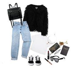 """""""Senza titolo #55"""" by carmendilauro-1 on Polyvore featuring moda, Dry Lake, McQ by Alexander McQueen, Valentino, NARS Cosmetics, Accessorize, Levi's e Royce Leather"""