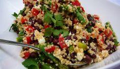 Recetas light: Tabbouleh de Quinoa | Titi Aguayo.cl