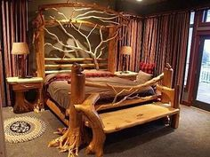 Definitely would love this bed in my bedroom.
