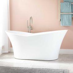 fiberglass free standing tub. Marsellus Acrylic Freestanding Tub Eaton  tub Tubs and Bath