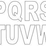 moldes do alfabeto grande para imprimir