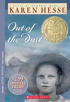 Out of the Dust by Karen Hesse    Novel in verse. This story of a teenager in the Dust Bowl during the Great Depression will stomp on your heart repeatedly until you can't bear it anymore.     It will be worth it.