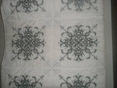 stunning cross stitch quilt!