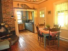 in Georgian Bluffs, CA. Although the booking says Entire Home/Apt, our guests share the space with us.  An authentic family farmhouse with 3 bedrooms on the second floor available for guests with a bathroom for guest use only.  We give our guests as much privacy as they ...