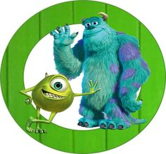 Disney Party Ideas:  Monsters Inc. Party