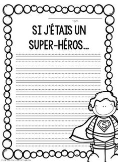 Literacy Games, Writing Activities, French Worksheets, Teaching French, Kids Writing, Learn French, Journal Prompts, Teacher Pay Teachers, Teacher Newsletter