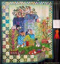 Cathy Geier's Quilty Art Blog: Upper Midwest Quilt Show - Ann Horton