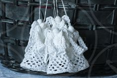 Handmade Angels, Crochet Angels, Christmas Angels, Great Gifts, Christmas Decorations, Lace, Women, Fashion, Moda