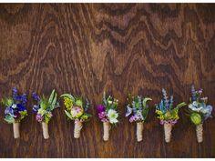 Seasonal - Wedding wildflower inspired twine wrap boutonnieres utah wedding flowers calie rose www. Modern Wedding Flowers, Floral Wedding, Wedding Bouquets, Country Wedding Flowers, Spring Wedding, Our Wedding, Dream Wedding, October Wedding, Trendy Wedding