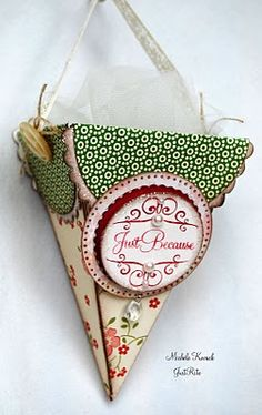 So Sweet - cute wall decoration to match your craft room and can hold pencils, or?