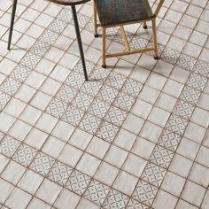 "EliteTile Arquivo 4.88"" x 4.88"" Ceramic Field Tile in Lattice & Reviews | Wayfair"