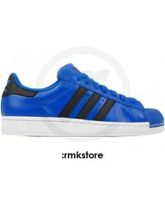 save off da9e8 538d3 Buy Discount Adidas Superstar Mens Blue Online T-1036