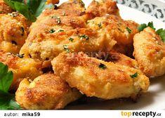 Pečená máslová křidélka s česnekem recept - TopRecepty.cz Treats, Ethnic Recipes, Chicken, Foods, Sweet Like Candy, Food Food, Food Items, Snacks, Buffalo Chicken