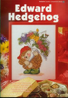 Edward Hedghog (Country Companions) From Cross Stitcher N°053 February 1997 1 of 3