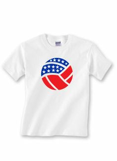 Bump, set, spike! Volleyball players-- get your 4th of July exclusive Sports Katz t-shirt!