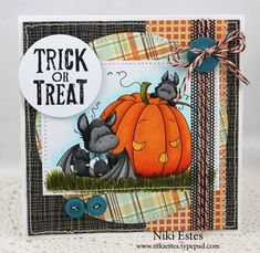 Trick or Treat: Whimsy Stamps October Release Showcase Day Two  by Niki Estes