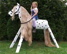 Holzpferd Voltigierpferd 110 cm Kleiner Onkel