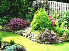 Kate likes when plants are grouped together in bunches with space between the bunches for stepping stones or as bench