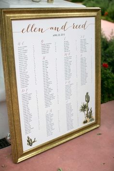 5 Diffe Styles Of Wedding Seating Charts