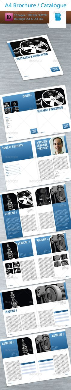 12 Pages Brochure / Catalogue
