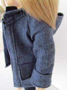 LAST ONE. Cozy Fall and Winter Herringbone Jacket by EnhancedImage, $15.00