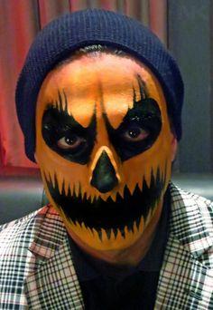 Halloween Face Paint Ideas | Scary pumpkin, Black tutu and Scary
