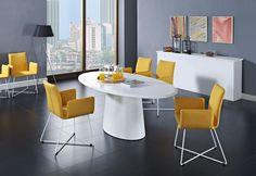 sets modern white dining room furniture glass eris style set