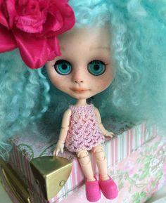 Zoey- Blythe Little Sister Custom Blyh Doll Like Middie by Emmy Blythe