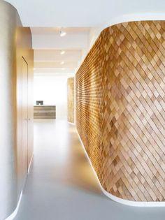 Wall cladding - wood shingles