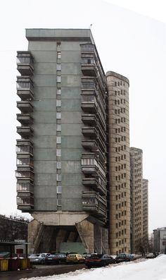 СОВМОД - Жилой дом на Беговой улице