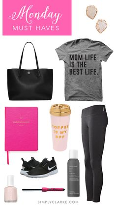 Monday Must Haves, Mom Style, Athleisure Wear, Pink Fashion