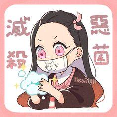 Kimetsu no Yaiba Anime Chibi, Kawaii Anime, Manga Anime, Anime Demon, Slayer Meme, Demon Slayer, Chibi Sketch, Tamako Love Story, Pokemon