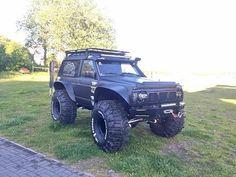 Nissan Patrol Gr Y60 Black Devil Best 4x4 Cars, All Cars, My Dream Car, Dream Cars, Nissan Patrol Y61, Patrol Gr, Nissan 4x4, Roof Rack, My Ride