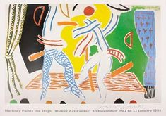Artwork by David Hockney, 2 Works: Hockney Paints the Stage ; Die Frau Ohne Schatten, Made of Offset lithographic posters in colors on wove paper