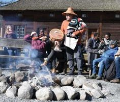 """Kwantlen guides teach through Salish stories 