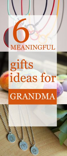 Making Gift-giving Personal Again: 6 Gift Ideas for Grandma #GiveDifferently