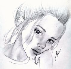 #çizim #karakalem #tumblr #resim #çizmek #kız