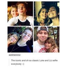 It's cute that he take selfies with his mum half the guys a know think it's not cool to do that
