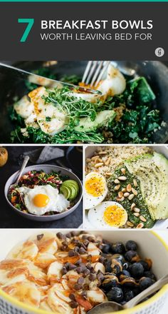 7 Breakfast Bowls to Get You Out of Bed #breakfast #bowls http://greatist.com/eat/breakfast-bowls