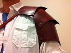 Picture of How to make a Leather Pauldron (or Spaulder)