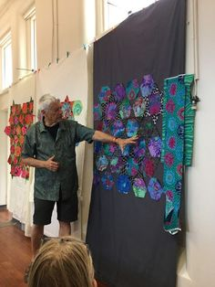 Kaffe Fassett class in Wellington - January 2016 | Wendy's quilts and more | Bloglovin'