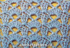 Free openwork crochet pattern 5
