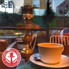 Efsane kapuçino gelmiş o kadar diyim! Bir de yanına filtre kahve  #yusufusta #nargile #nargilekeyfi #nargilecafe #hookah #shisha #kahve #kahvekeyfi