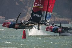 Emirates team NZ coming in hot