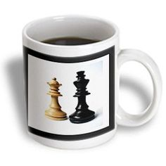 3dRose mug_80372_2 King N Queen of Chess Ceramic Mug, 15-Ounce *** You can get additional details at the image link.